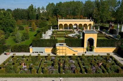 Berlin, Erholungspark Marzahn, Gaerten der Welt, Italienischer Renaissancegarten